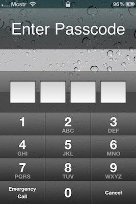 Sicherheitslücke in iOS 4.1: Trotz Passcode Sperre Zugriff auf Kontakte &amp&#x3B; Email