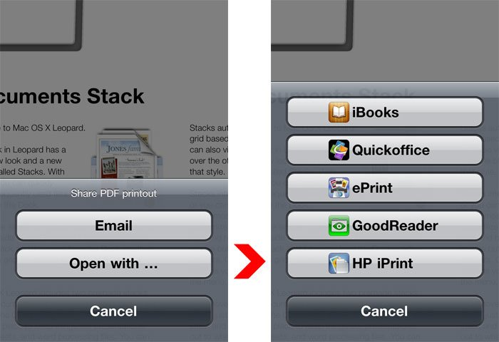 App of the Day: ACTPrinter - Drucken auf das iOS-Device