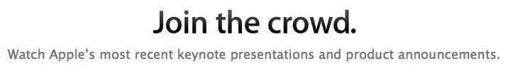 Heutige Keynote: Apple bietet Live Videostream - um 19 Uhr