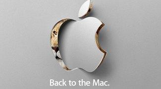 "Apple-Event ""Back to the Mac"" für den 20. Oktober angekündigt"