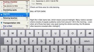 MacJournal: Schreiben und Bloggen jetzt auch auf dem iPad