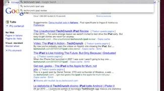 Chromium unterstützt Google Instant