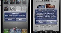 Apple führt Concierge-App in den Stores ein
