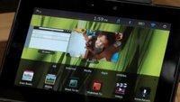 PlayBook: Video zeigt Flash auf BlackBerry-Tablet