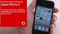 Vodafone zeigt iPhone-4-Konfigurationsvideos auf Support-Website
