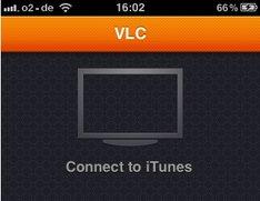 VLC-Player spielt auf dem iPhone
