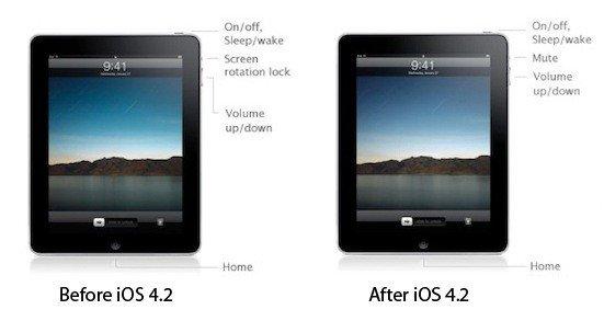 Steve Jobs: Stummschalter des iPads bleibt Stummschalter