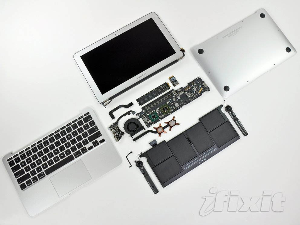iFixit: Neues MacBook Air unter der Lupe