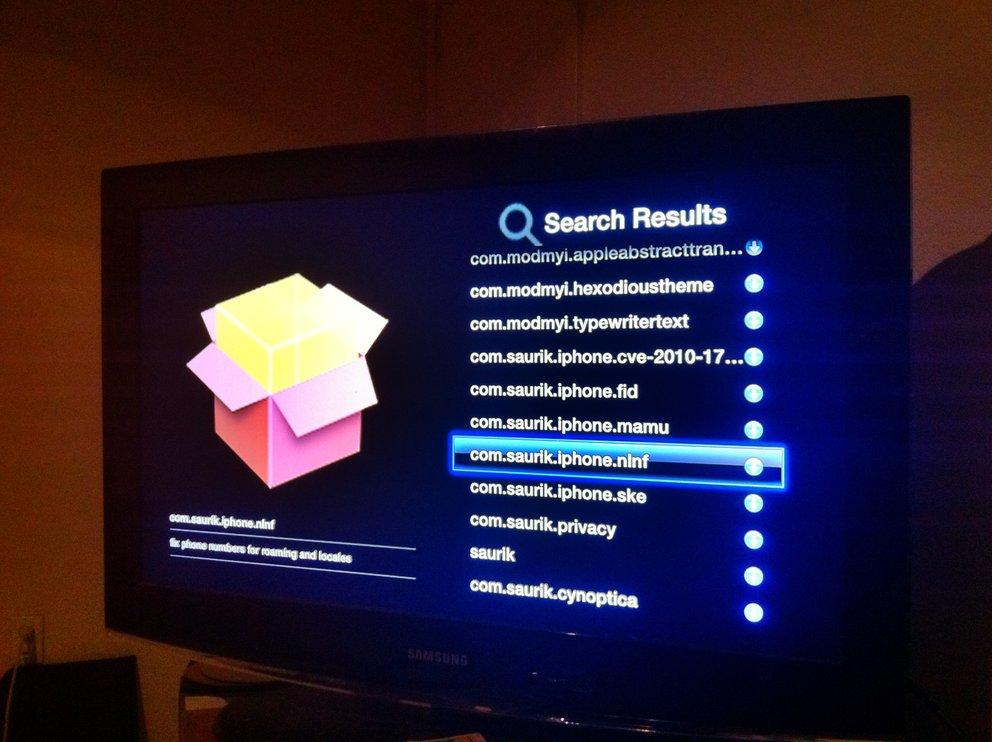 NitoTV: Cydia für Apple TV in Entwicklung