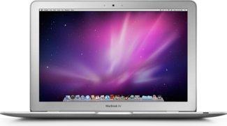 Schrumpfende Lagerbestände des MacBook Air