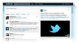 Twitter-Update in Vorbereitung