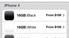 Apple Store App: Reservierungen für weisses iPhone 4