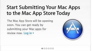 Apple nimmt Apps für Mac App Store entgegen