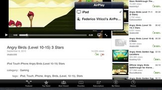 iOS 4.2: Apple reaktiviert AirPlay für iPad-YouTube-App