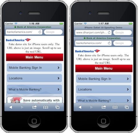 Achtung: UI Spoofing in Safari [Phishing]