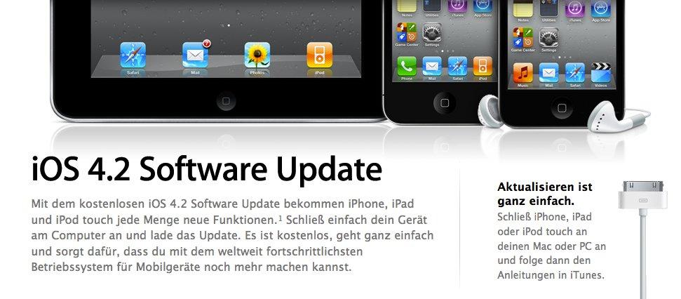Heute: Apple veröffentlicht iOS 4.2, Find My iPhone gratis