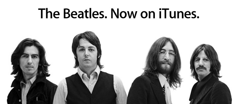Bis in 2011: Die Beatles exklusiv im iTunes Music Store