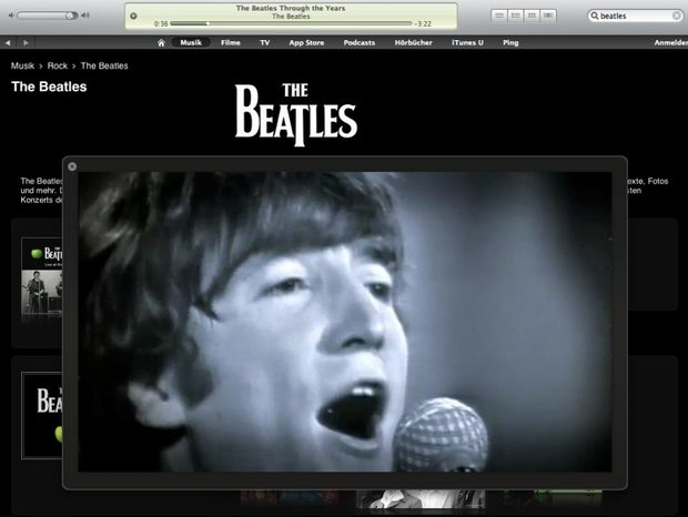 iTunes: With the Beatles!