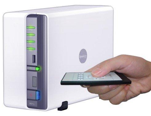 Synology DiskStation DS211j: Neuer NAS-Server und Heim-Unterhalter