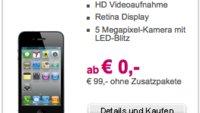 T-Mobile Austria: iPhone 4 ab 0,- Euro