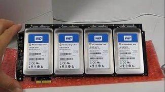 512 Gigabyte-SSD-Raid für den Mac Pro