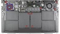 MacBook Air mit Feuchtigkeitsindikator-Rekord