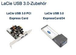 LaCie veröffentlicht Mac-Treiber für USB-3.0-Karten