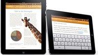 Update für iPad-iWork-Apps bringt iOS-4.2-Features