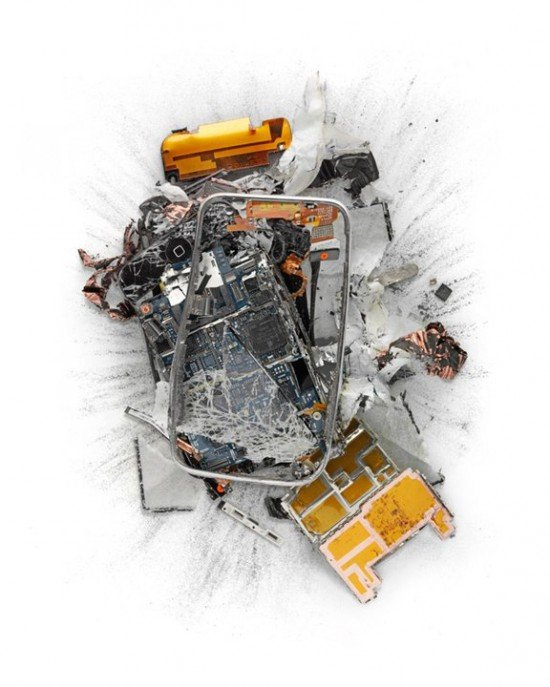 Pics of the Day: Destroyed Apple Products