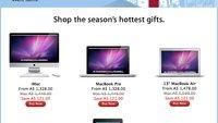 Black Friday: Australischer Apple Store zeigt Angebote