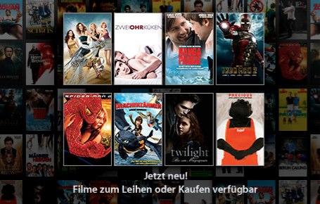 iTunes Filme Österreich & Schweiz