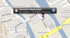 Street View auf dem iPhone ohne Bewegungssteuerung