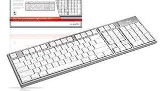 Trust Slimline Aluminium Keyboard