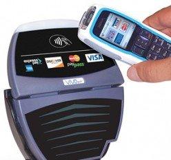 NFC Einsatzgebiet: Bezahlen mit dem Handy