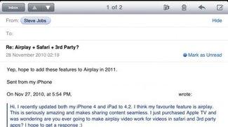 AirPlay-Video für weitere Apps kommt 2011