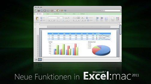 Microsoft Excel 2011 (Mac) getestet