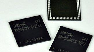 Neue Samsung-Chips versprechen bis zu einem Gigabyte RAM für Smartphones