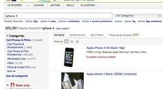 iPhone 4 war 2010 beliebtestes eBay-Produkt in den USA - iPad auf Platz 5