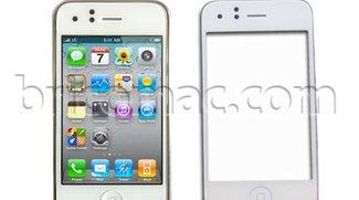 Ersatzteil macht Vorderseite von iPhone 3GS weiß