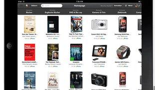 Windowshop: Amazons iPad-App jetzt auch für den deutschen Markt
