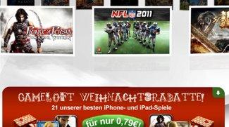 Weihnachtsrabatte im App Store: Gameloft Spiele und mehr