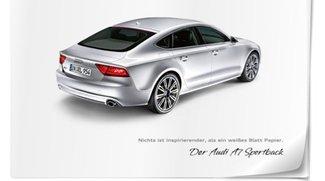 iPad App zum Audi A7 Sportback erschienen