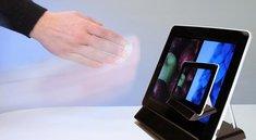 iPad berührungslos bedienen