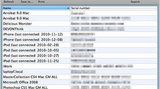 Mac Product Key Finder entdeckt verlorene Seriennummern