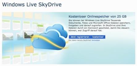 Office:mac 2011: Mit SkyDrive Dokumente in der Cloud ablegen