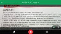 Word Lens: Google übersetzt Fremdsprachen im Kamerabild