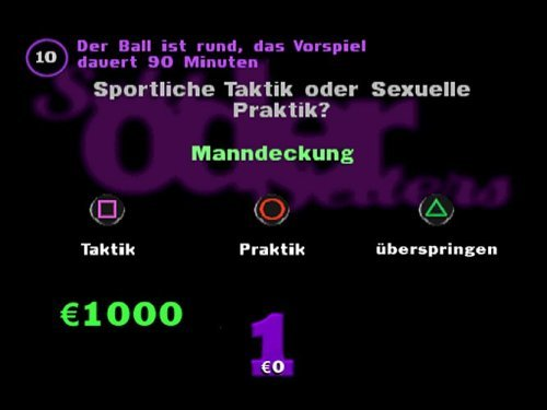 Version von YDKJ für die PlayStation 1.