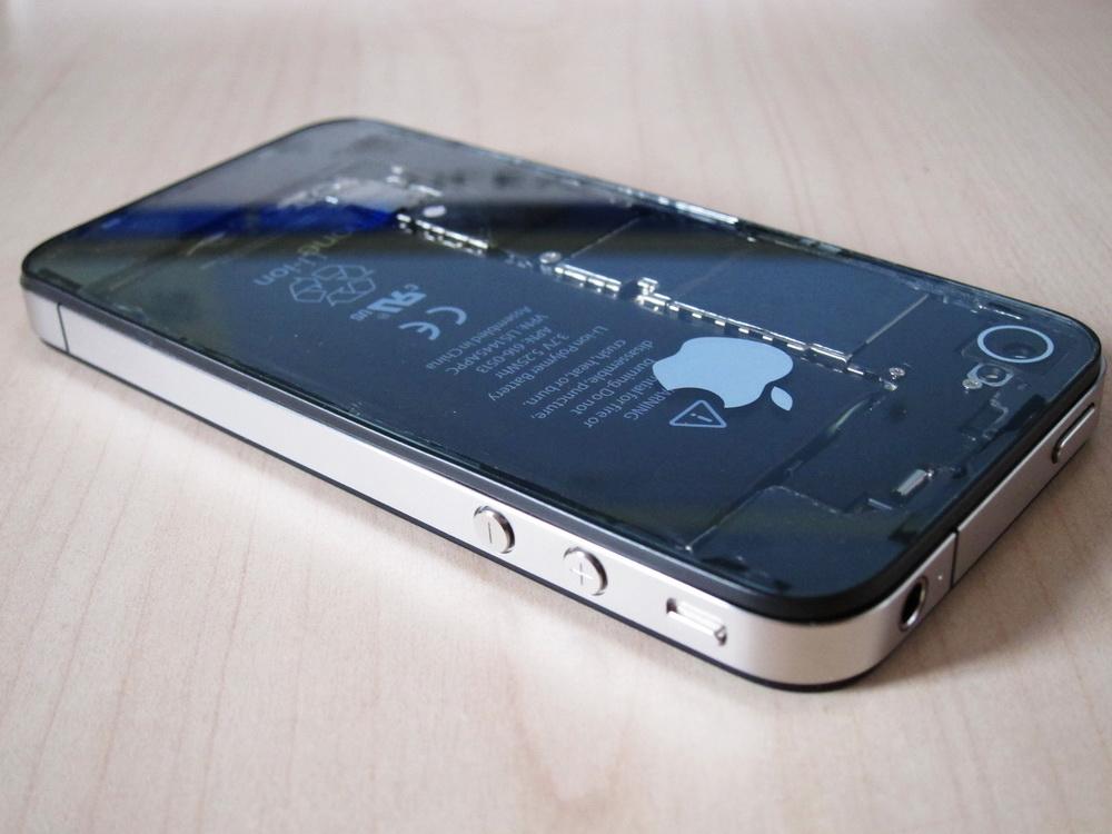 Iphone 4 case modding transparentes iphone im eigenbau giga for Grove iphone 4 case