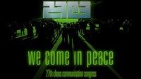 27. Chaos Communication Congress erfolgreich abgeschlossen