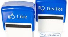 Facebook-Stempel als lustiges Büro-Accessoire